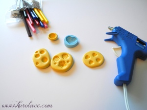 Glue sticks, molds, and glue gun